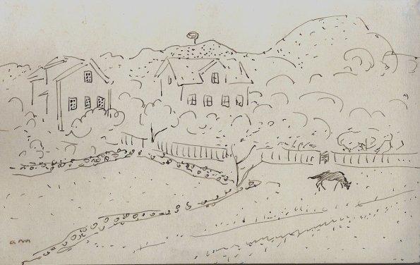 Maisons dans la campagne