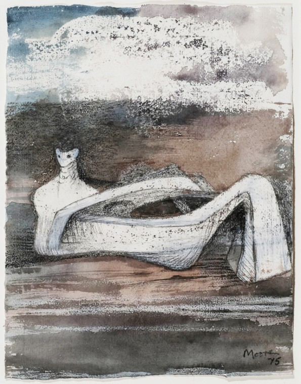 Henry Moore, Reclining Figure, 1975