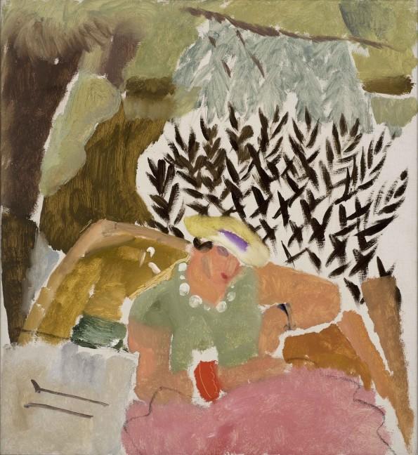 Ivon Hitchens, Boating Suffolk - Betty Bedford, 1934