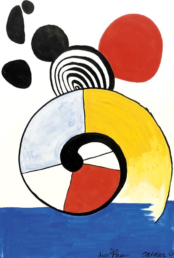 Alexander Calder, Untitled, 1967