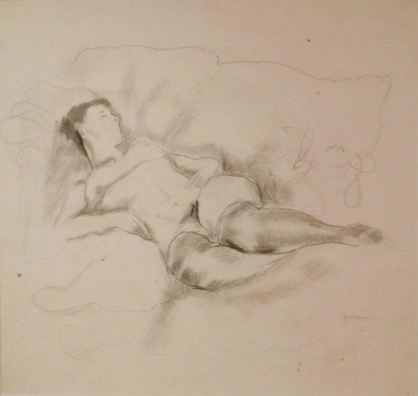 Jules Pascin, Les Bas Noirs, 1928