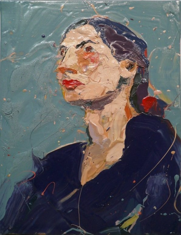 Paul Richards, Cecilia dreaming, 2008