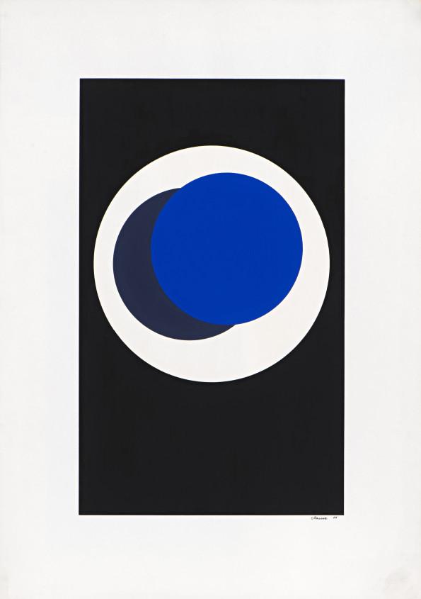 Geneviève Claisse, Cercles, 1966
