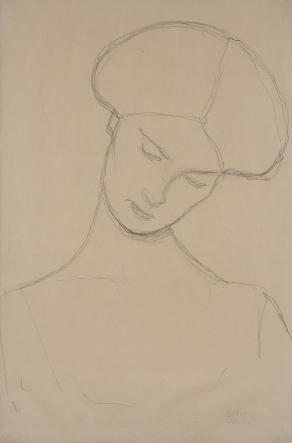 Gustav Klimt, Femme Assise, 1916