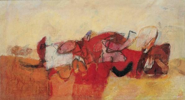 Afro, Reclining Figure, 1956