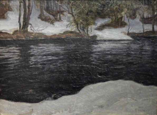 Erik Hedberg, Melting Snow, c.1902