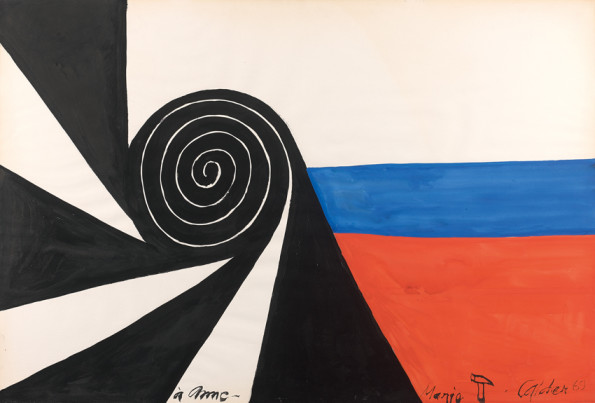 Alexander Calder, Composition, 1969