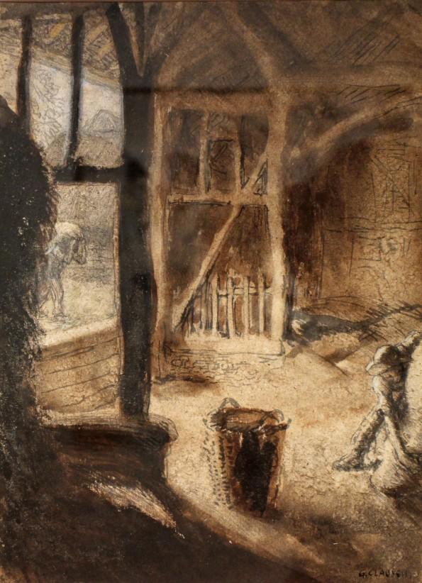 Sir George Clausen, The Barn
