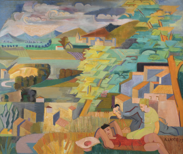 <span class=&#34;artist&#34;><strong>Andre Lhote</strong></span>, <span class=&#34;title&#34;><em>Mirmande</em>, 1939</span>