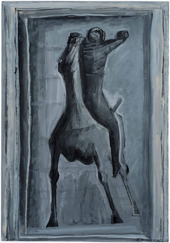 <span class=&#34;artist&#34;><strong>Marino Marini</strong></span>, <span class=&#34;title&#34;><em>Cavaliere</em>, 1947</span>