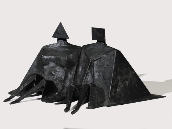 Lynn Chadwick, Sitting Couple II, 1980