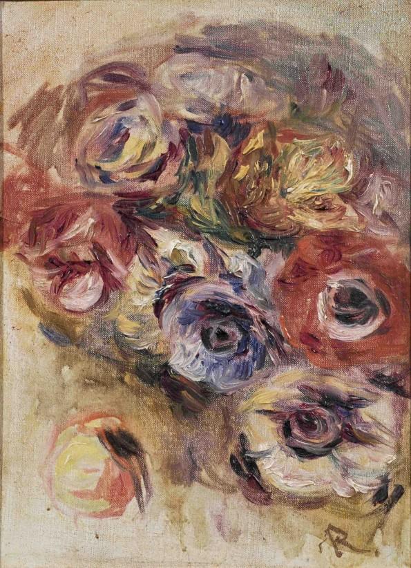 Pierre-Auguste Renoir, Bouquet d'Anémones