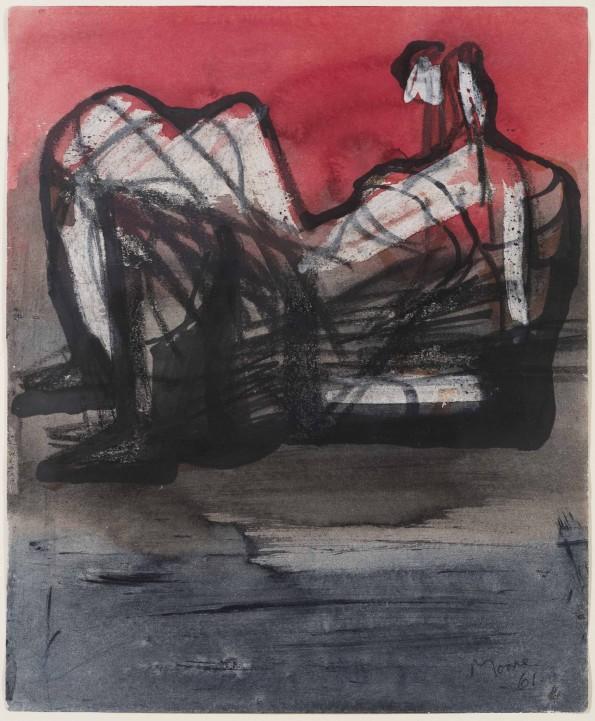 Henry Moore, Reclining Figure, 1961