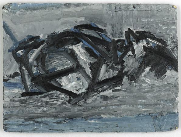 <span class=&#34;artist&#34;><strong>Frank Auerbach</strong></span>, <span class=&#34;title&#34;><em>JYM Reclining</em>, 1971</span>