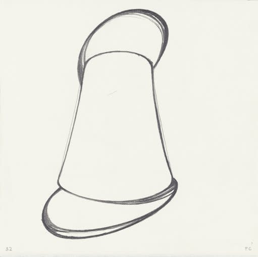 <strong>Patrick Caulfield</strong>, <em>Lamp Study no.32</em>, 1991