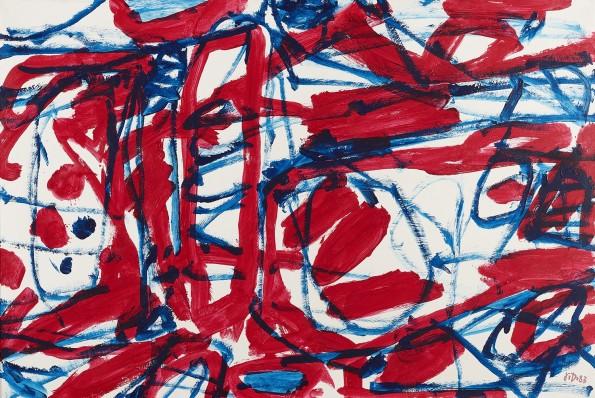 """<span class=""""artist""""><strong>Jean Dubuffet</strong></span>, <span class=""""title""""><em>Mire G 72 (Boléro) 15 mai 1983</em>, 1983</span>"""