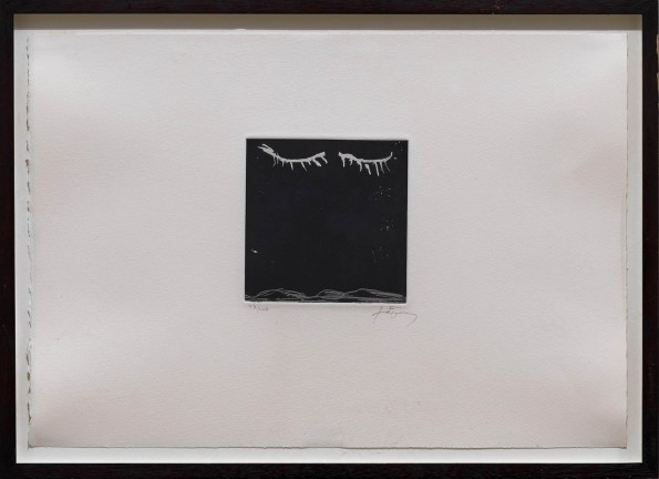 """<span class=""""artist""""><strong>Antoni Tàpies</strong></span>, <span class=""""title""""><em>From: Suite Monstseny A–J </em>, 1993</span>"""