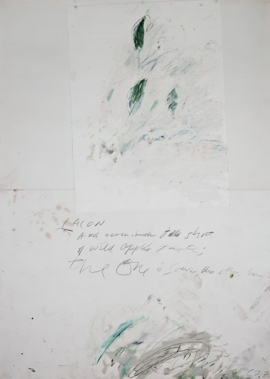 """<span class=""""artist""""><strong>Cy Twombly</strong></span>, <span class=""""title""""><em>Untitled </em>, 1976</span>"""