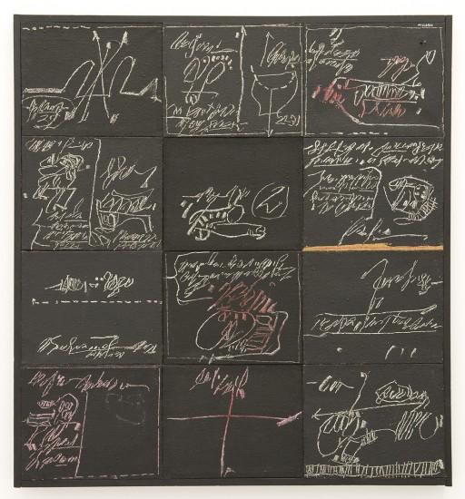 "<span class=""artist""><strong>Manolo Millares</strong></span>, <span class=""title""><em>Memoria de una excavaci6n</em>, 1970</span>"