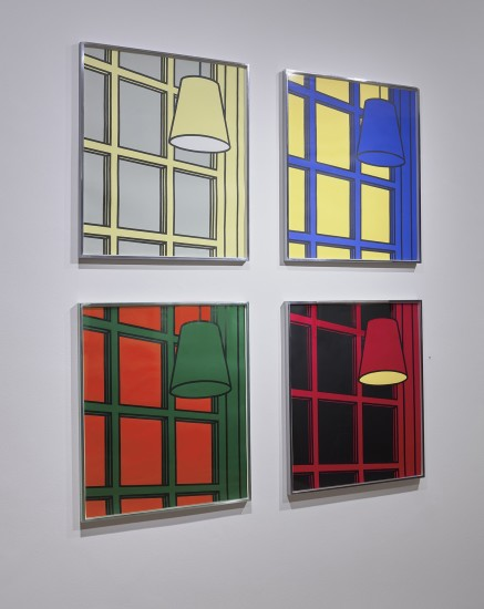 "<span class=""artist""><strong>Patrick Caulfield</strong></span>, <span class=""title""><em>Interior : Morning, Noon, Evening, Night</em>, 1971</span>"