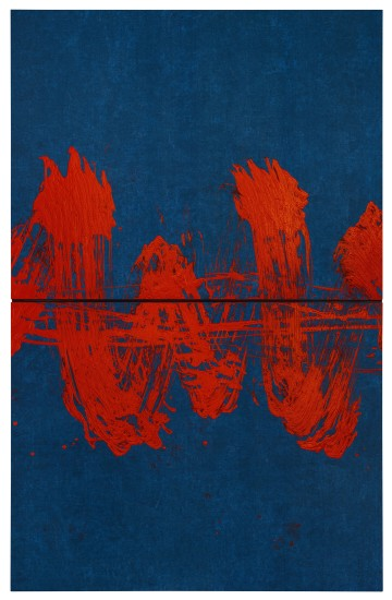 "<span class=""artist""><strong>Fabienne Verdier</strong></span>, <span class=""title""><em>INFRA-RED-SCORE</em>, 2020</span>"