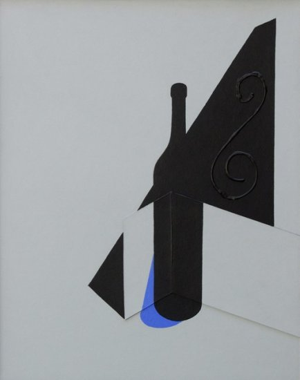 """<span class=""""artist""""><strong>Patrick Caulfield</strong></span>, <span class=""""title""""><em>Tall Bottle</em>, 1998</span>"""