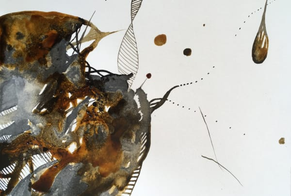 Kyra Pape, Experimentation Series 1: Inkt1827, 2018