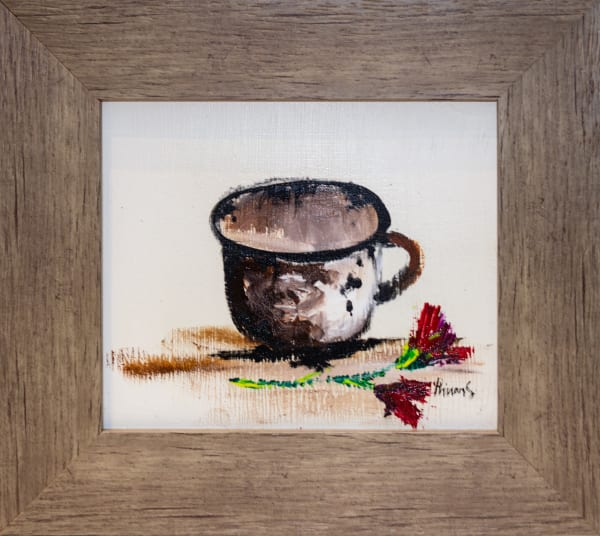 Phineas Malema, Teacup And Roses, 2018