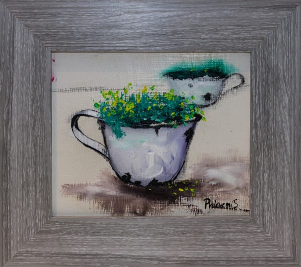 Phineas Malema, A Cup Filled With Common Fig Trees, 2018