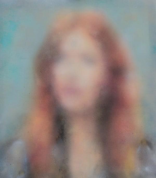 Eliana Marinari Once II, 2019 Acrylic, ink, spray paint on canvas 100x90cm