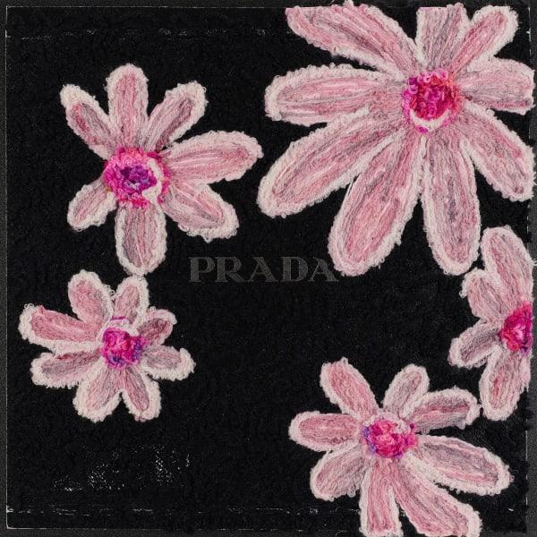 Stephen Wilson, Prada Floral Texture Study, 2019