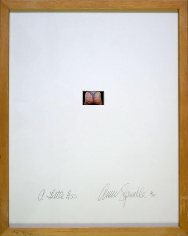 Annie SPRINKLE, A little ass, 1999