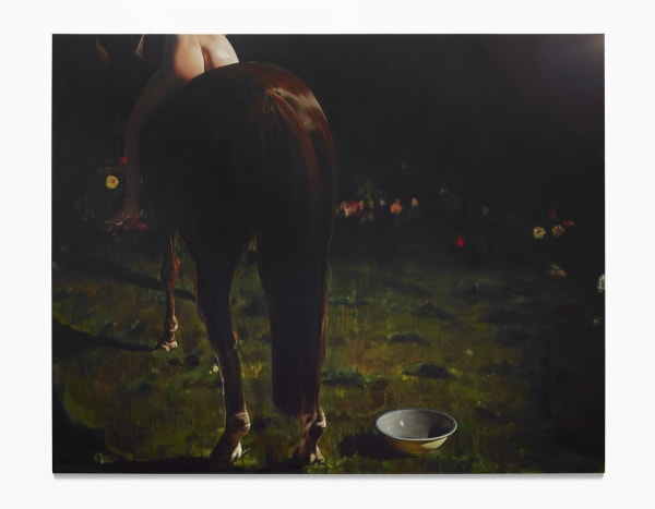 Leopold RABUS, Le cheval, 2015