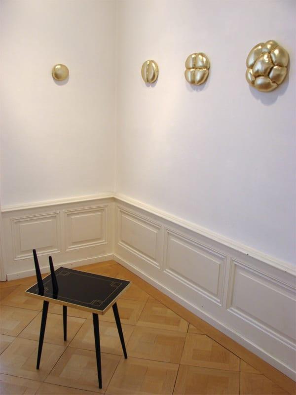 Elodie ANTOINE, Multiplication dorée - golden multiplication, 2011