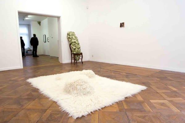 Elodie ANTOINE, Tapis bulbeux - carpet with bulb, 2007