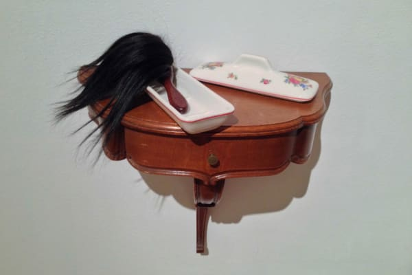 Elodie ANTOINE, Brosse chevelue 2, 2014
