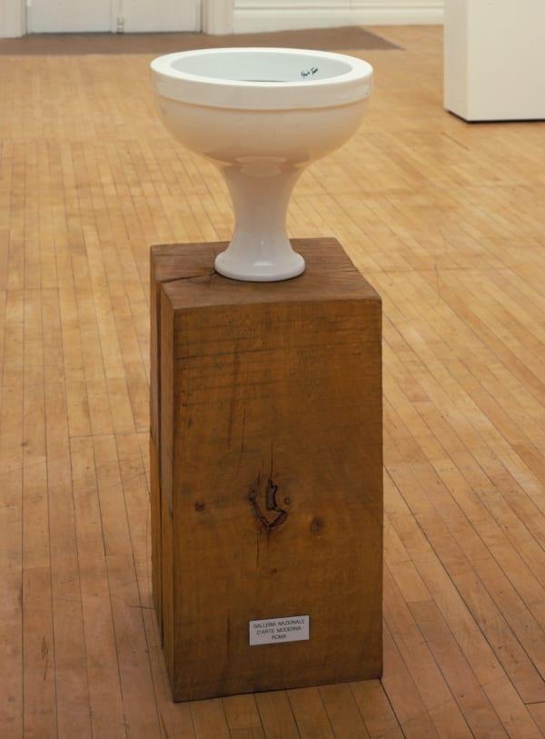 Gavin TURK, FONT (Musée d Art Moderne Bruxelles), 2008