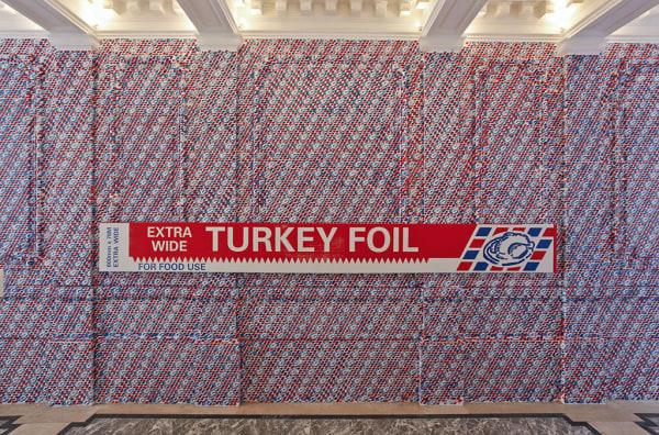 Gavin TURK, Turkey Foil XL, 2011