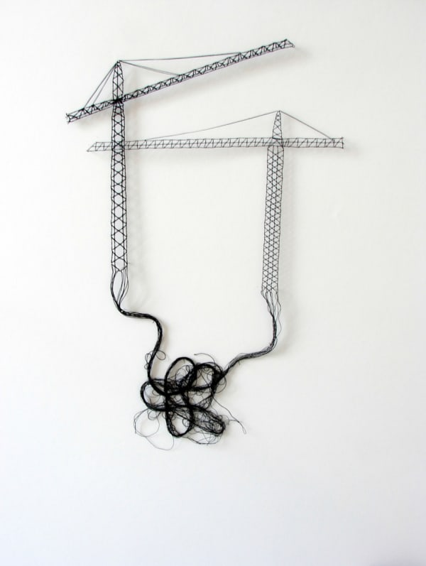 Elodie ANTOINE, Grues - Cranes, 2008