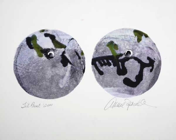 Annie SPRINKLE, Tit print, 2000