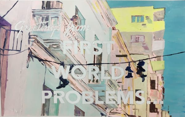 David KRAMER, First World Problems (shoes), 2017