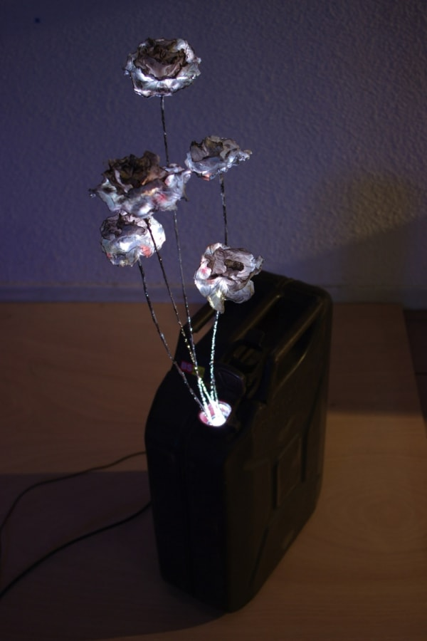 Samuel ROUSSEAU, Fleurs Kérozène, 2008
