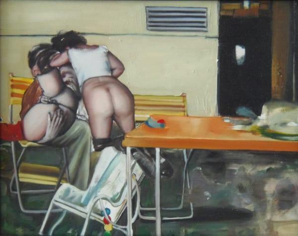 Leopold RABUS, Scène érotique, 2008
