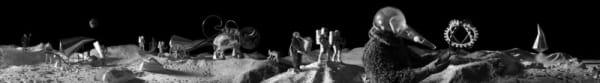 KAHN & SELESNICK, Lunar procession, 2004