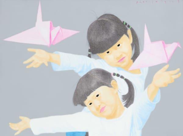 han feng, meisje, Chinees meisje, vreugdevolle jeugd, olieverf, Chinees meisje schilderen, mooi meisje schilderen, Aziatisch meisje, onschuldig kind, Art Nouveau chinois, chinese kunst, hedendaagse schilderkunst, figuratieve schilderkunst, interieur ontwerp, art design, home art decoratie , huiskunst, salondecoratie, hedendaags schilderij, art thema heyi, brussels art gallery