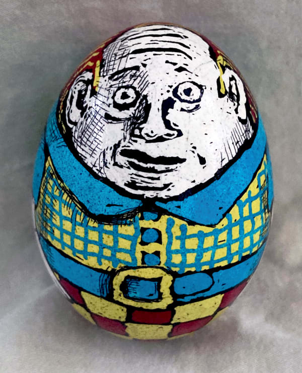 Pysanky eggs by Roz Chast
