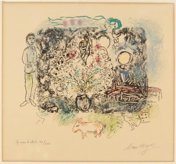 Marc Chagall, La Féerie, 1969