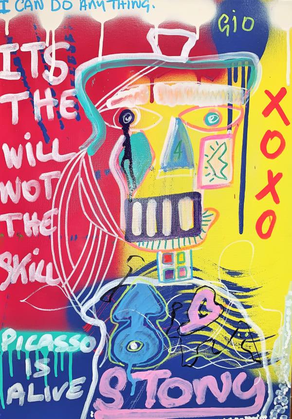 Stony, Picasso Is Alive, 2019