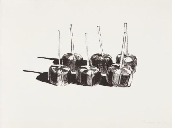 Wayne Thiebaud, Suckers State I, 1968