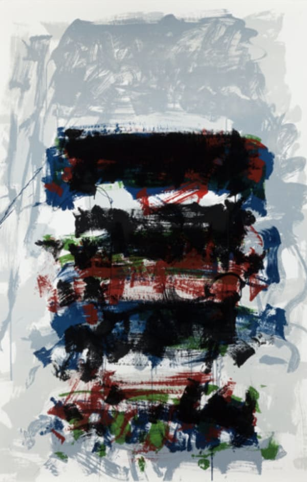 Joan Mitchell, Champs (Fields) (from the Carnegie Hall Centennial Fine Art portfolio), 1990